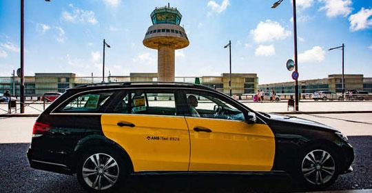 Barcelona_taxi-vliegveld