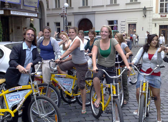 Praag_fietstour-fietsen