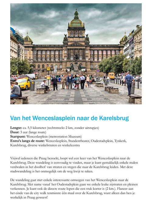 Praag_Wenceslasplein-Karelsbrug_wandeling