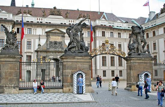 Praagse Burcht In Praag Praag Nu