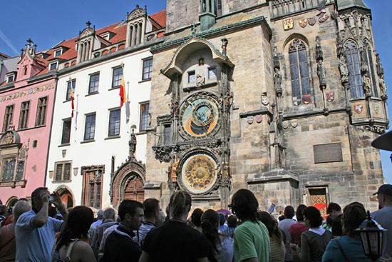 Praag_oudestadsplein-astronomische klok