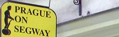 segway tour praag
