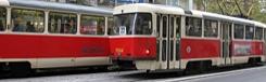 toeristen tram praag