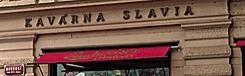 cafe kavarna slavia praag prague