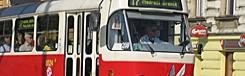 tram halte praag
