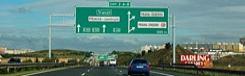 snelweg tolweg naar praag