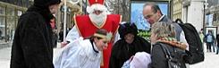 Sinterklaas en stoute kinderen