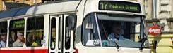 tram 22 in praag