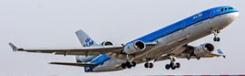 KLM naar Praag