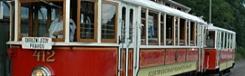 nostalgische tram praag