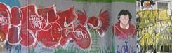 Grafitti in praag