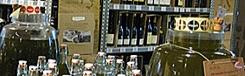 Italiaanse wijn en foodhall