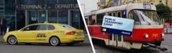 Gratis openbaar vervoer en luchthaventransfer