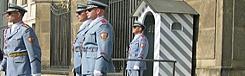 kasteelwacht Praagse Burcht van Praag